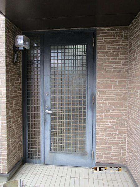 リシェント玄関ドア入替工事
