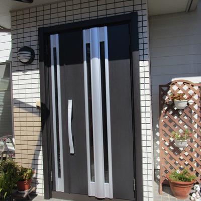玄関ドア入替工事 ~リシェントⅡ~
