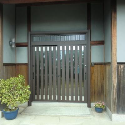 リシェント玄関引戸